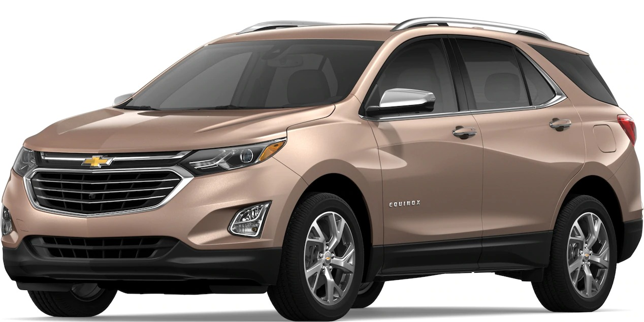 2019 Chevy Equinox Sandy Ridge Metallic side view