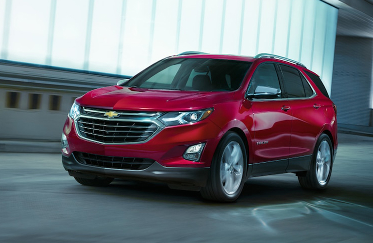 2019 Chevy Equinox in red