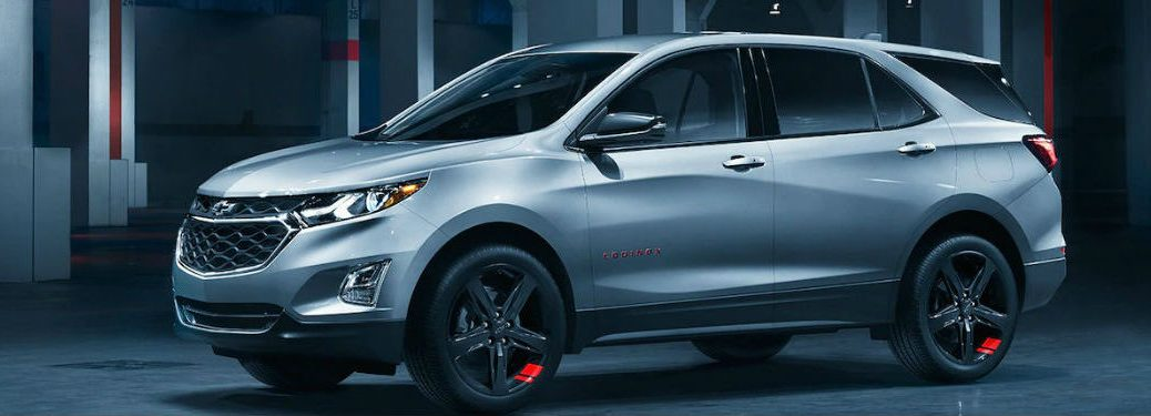 2019 Chevy Equinox in white