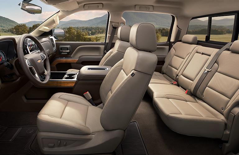 2019 Chevy Silverado seating