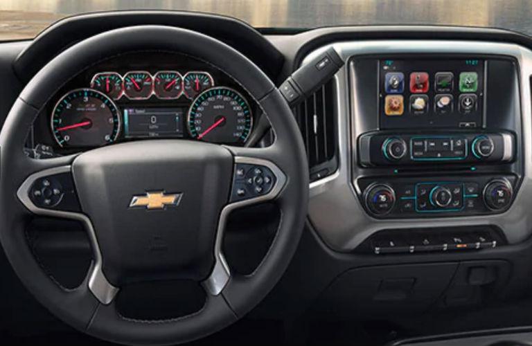 2019 Chevy Silverado 1500 LD dashboard
