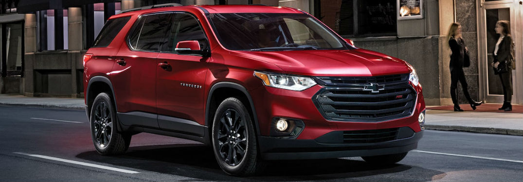 What colours are available on the Traverse?