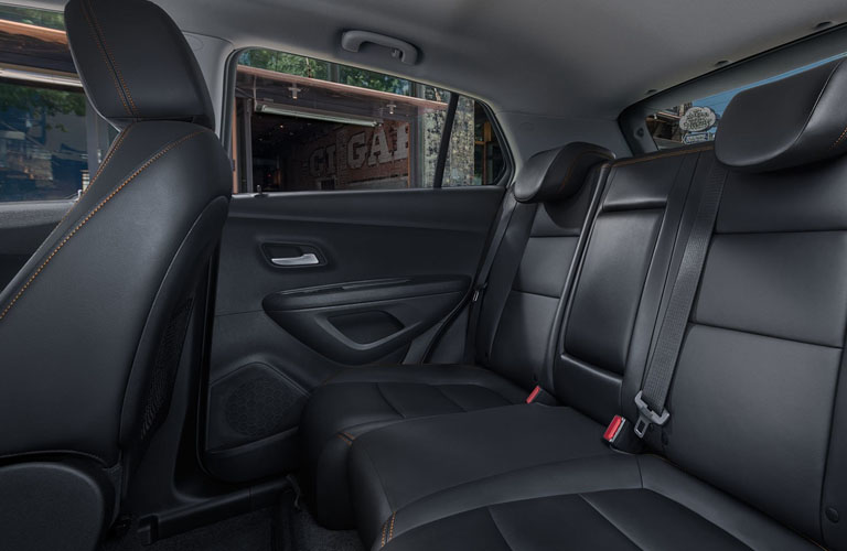 2019 Chevy Trax rear seating