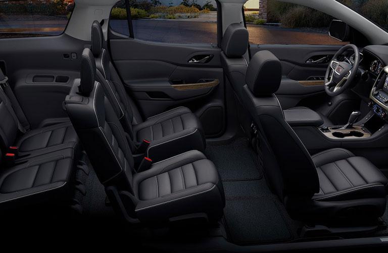 2019 GMC Acadia Denali seating