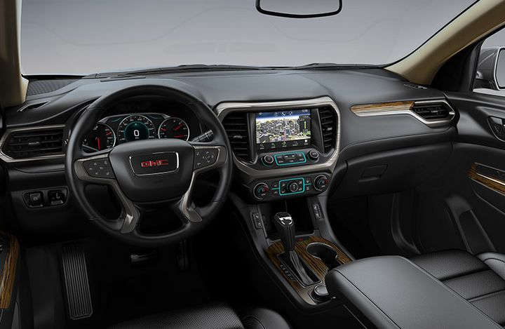 2019 GMC Acadia Interior Winnipeg