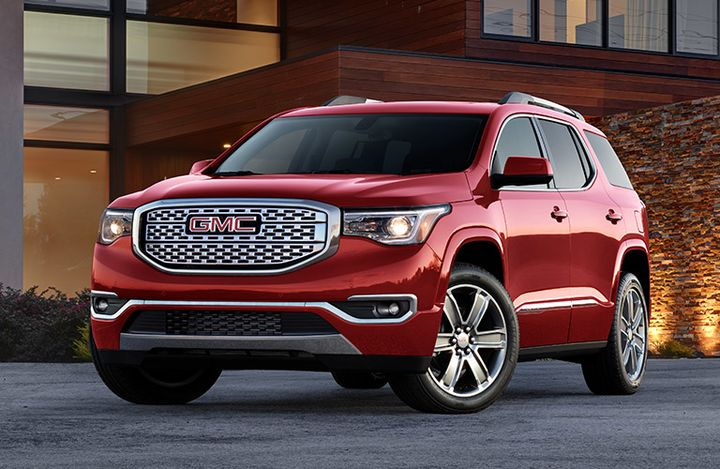 2019 GMC Acadia Red Winnipeg