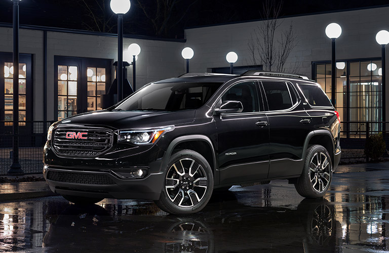 2019 GMC Acadia in black