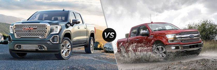 Sierra 1500 vs Ford F150 Winnipeg MB