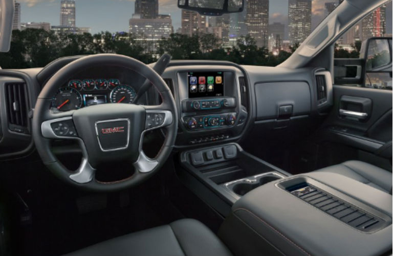 2019 GMC Sierra 2500HD dashboard