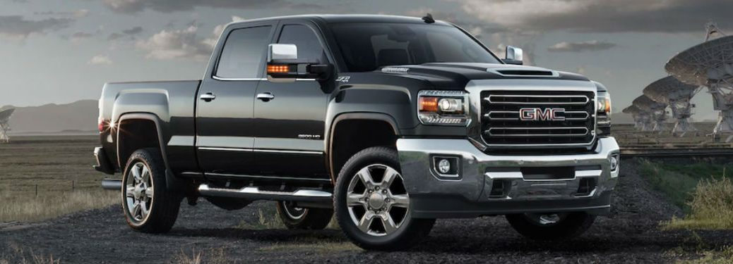 2019 GMC Sierra 2500HD in black