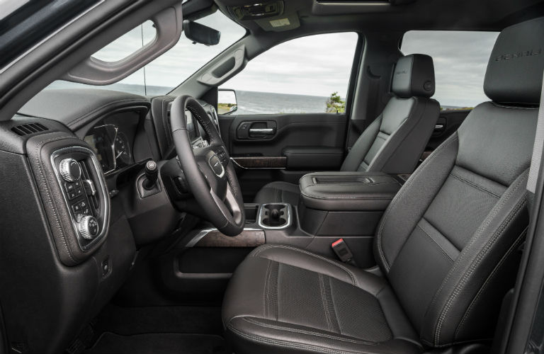 2019 GMC Sierra 1500 front seating