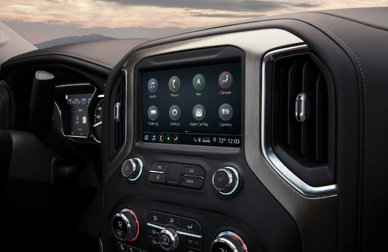 2019 GMC Sierra Denali touchscreen
