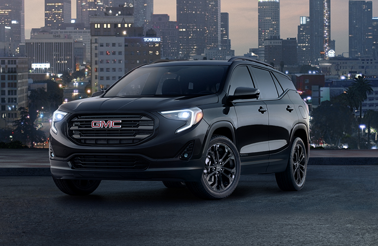 2019 GMC Terrain in black