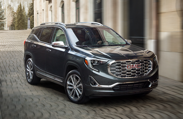 2019 GMC Terrain in gray
