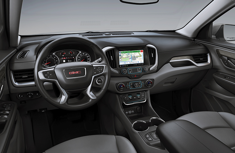 2019 GMC Terrain dashboard
