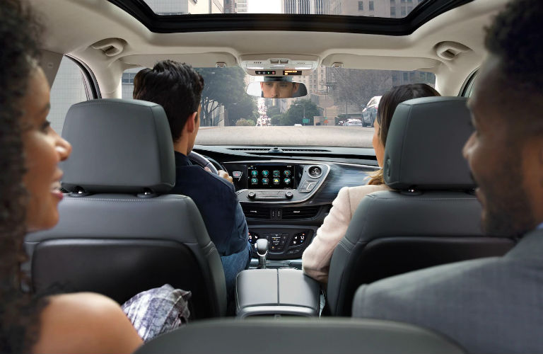 2019 Buick Envision seating with passengers
