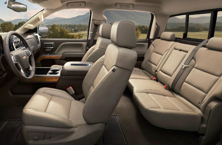 2019 Chevy Silverado 2500HD seating