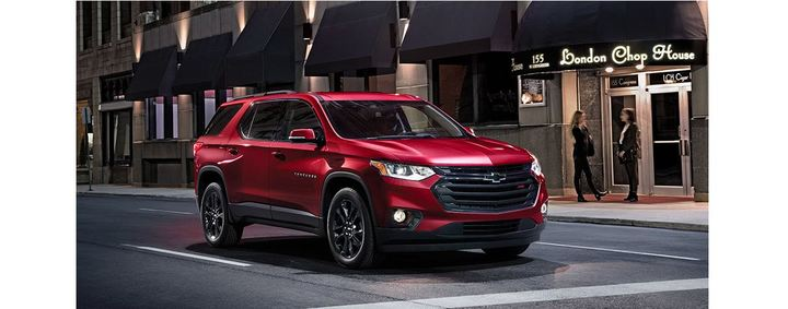 2019 Chevy Traverse Winnipeg Red