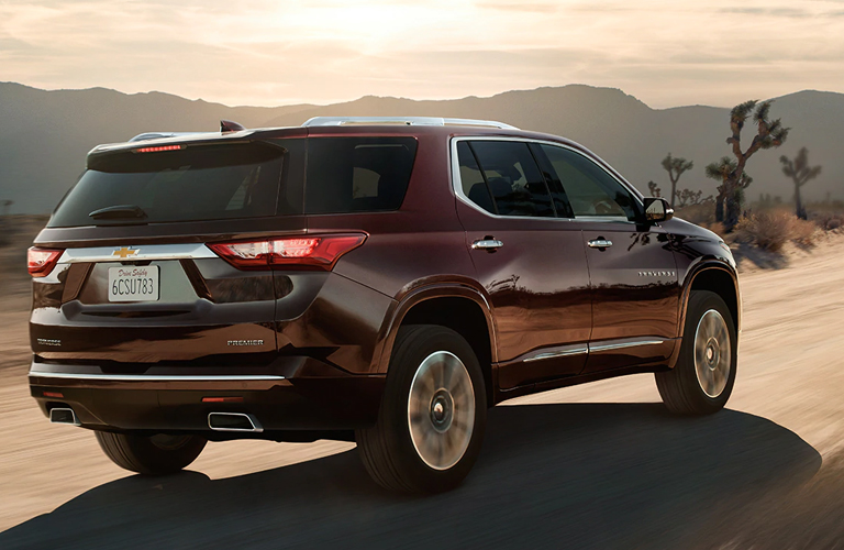 2020 Chevy Traverse in black