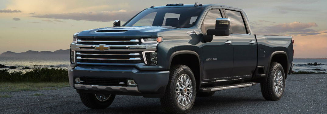 What's inside the 2020 Chevy Silverado 2500 HD?