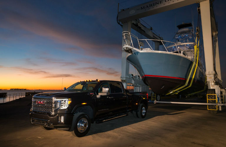2020 GMC Sierra Heavy Duty in black