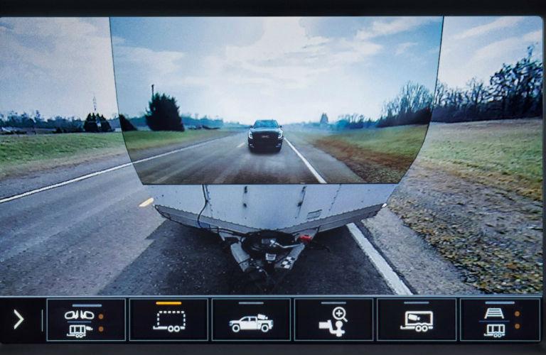 2020 GMC Sierra trailer cam view