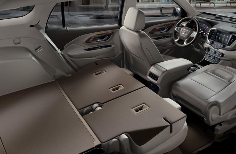 2020 GMC Terrain rear seats folded