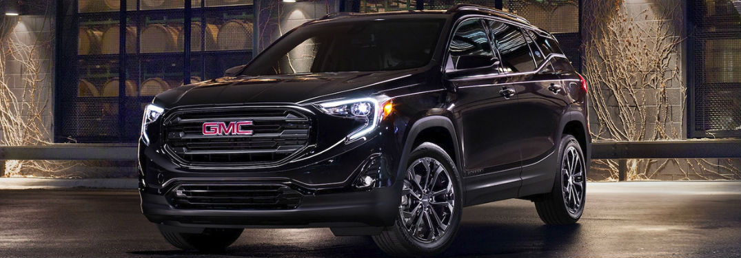 What features are inside the GMC Terrain?