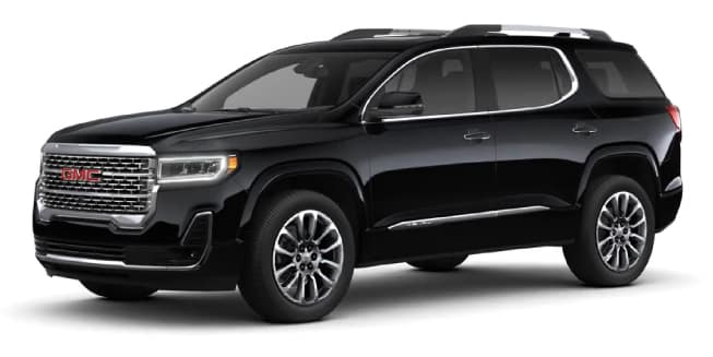 What colours are available on the 2020 GMC Acadia? - Craig ...