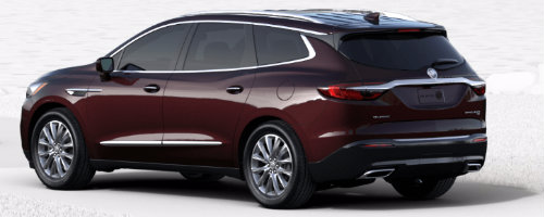 Black Cherry Metallic 2018 Enclave