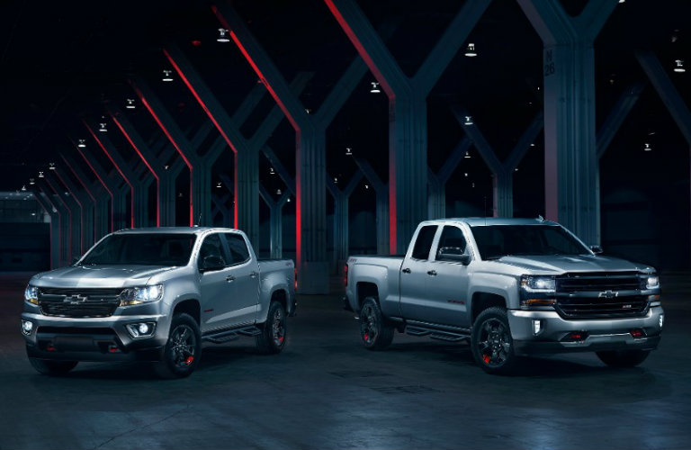 Chevy trucks Redline Edition