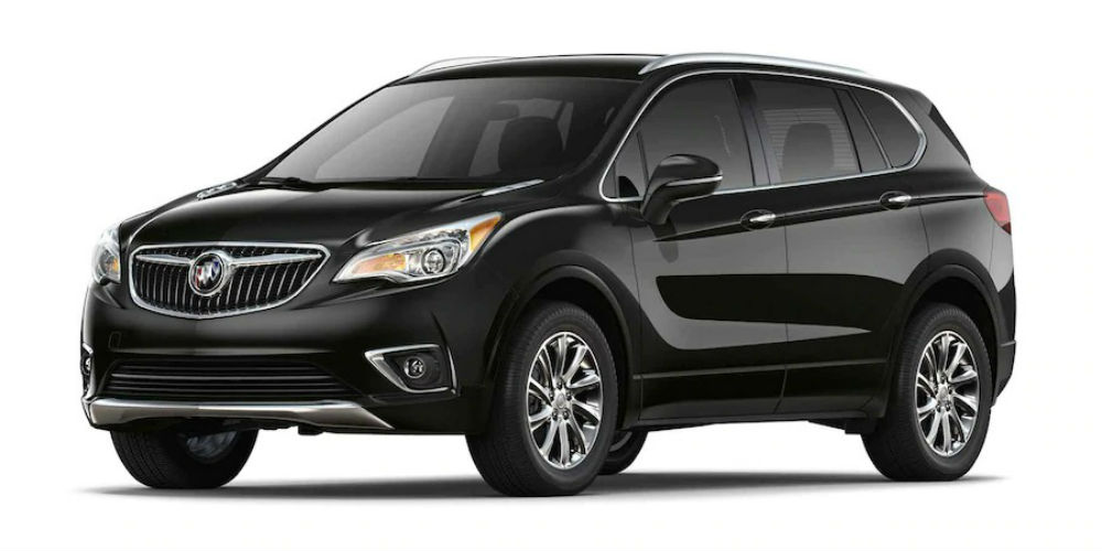 2019 Buick Envision in Ebony Twilight Black
