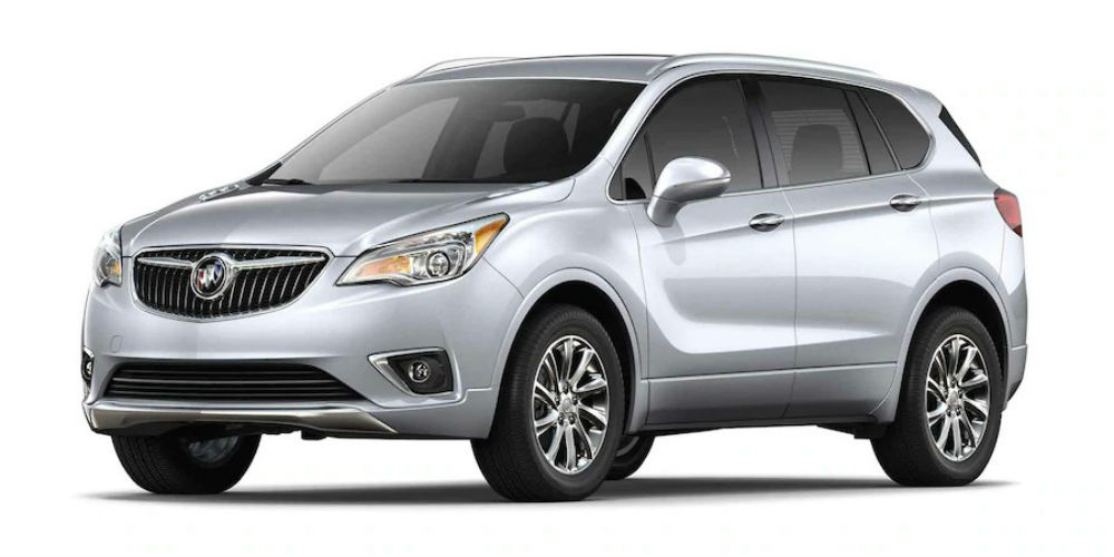 2019 Buick Envision in Galaxy Silver Metallic