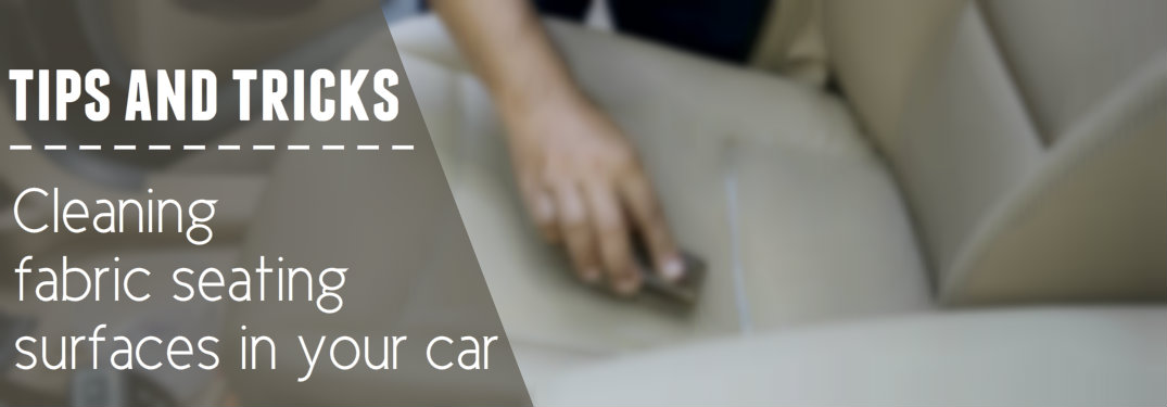 How to clean your car's cloth seats