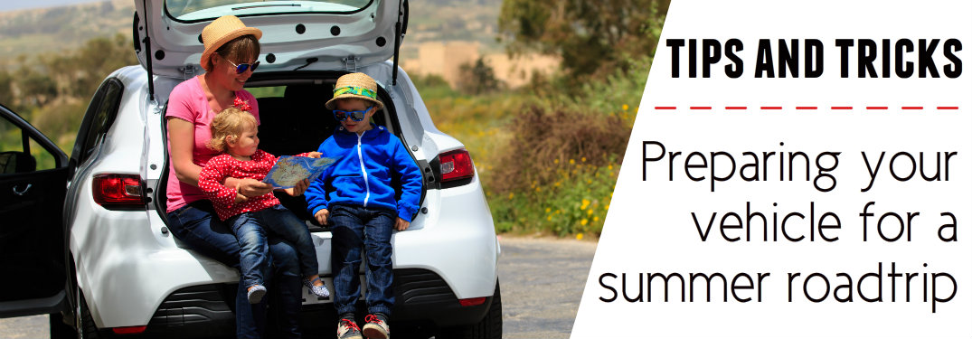 Four tips for preparing your vehicle for a long road trip