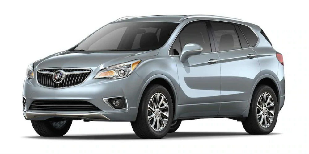 2019 Buick Envision in Satin Steel Gray Metallic