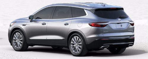 Satin Steel Metallic 2018 Enclave _o