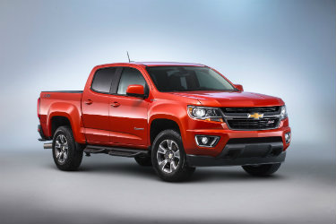 2016 Chevrolet Colorado with diesel engine