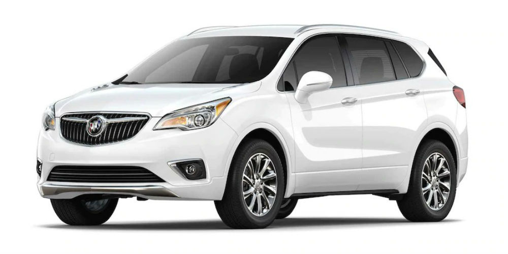 2019 Buick Envision in Summit White