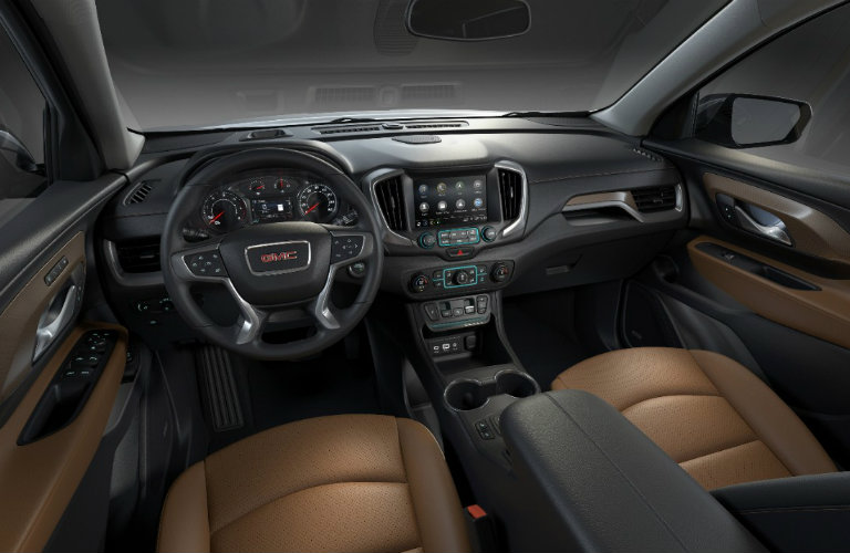 What safety features does the 2018 GMC Terrain have