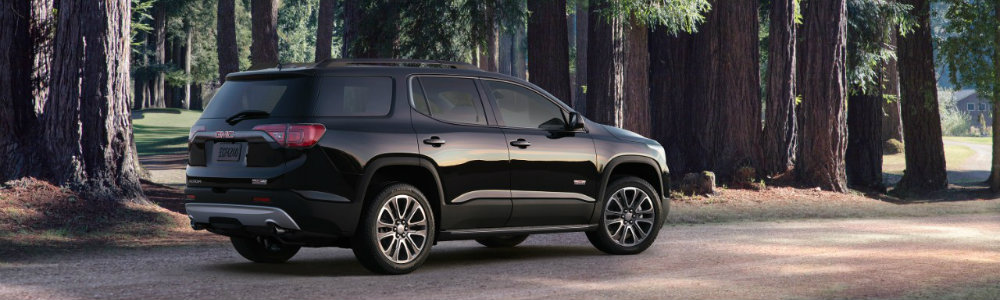 2017 GMC Acadia All Terrain from the back