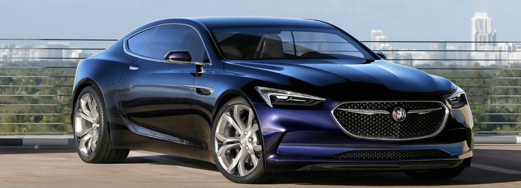 Buick Avista Concept Coupe Release Date