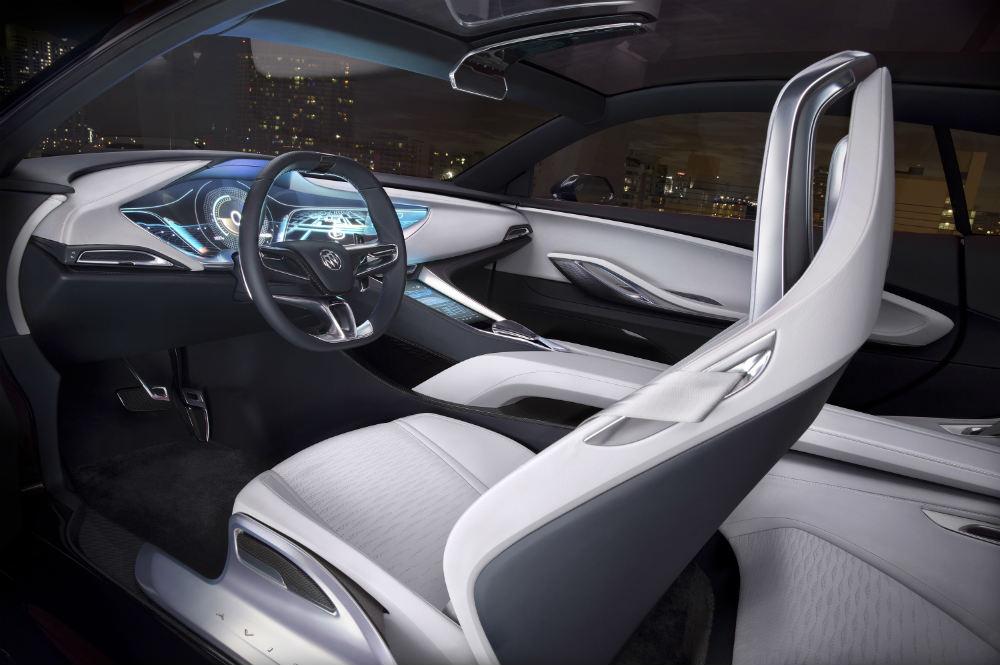 Buick Avista futuristic interior
