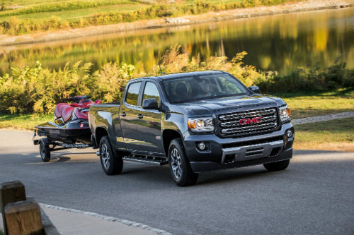 2016 GMC Canyon trailering maximums
