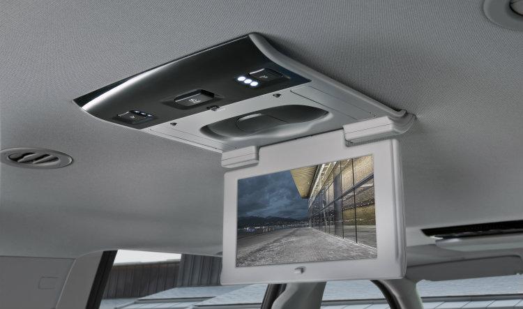 2016 GMC Yukon rear seat entertainment