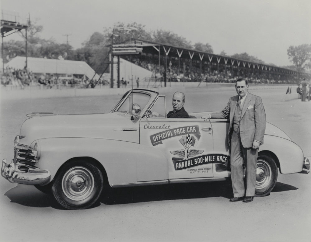 1955 Chevy Bel Air Pace Car at the Indy 500