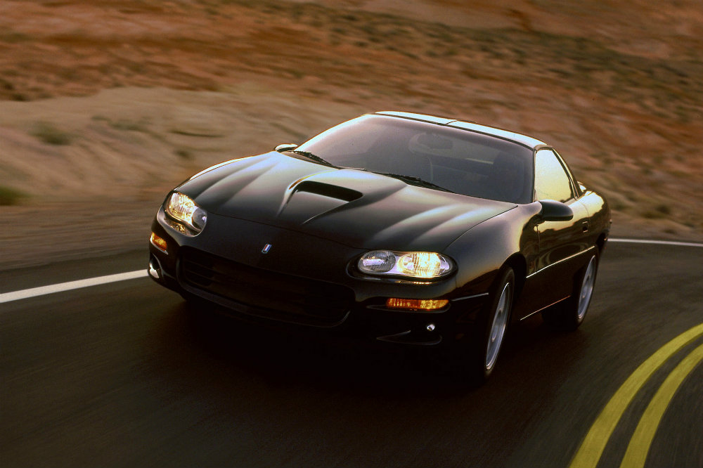 1998 Chevy Camaro SS looking dangerous on the highway