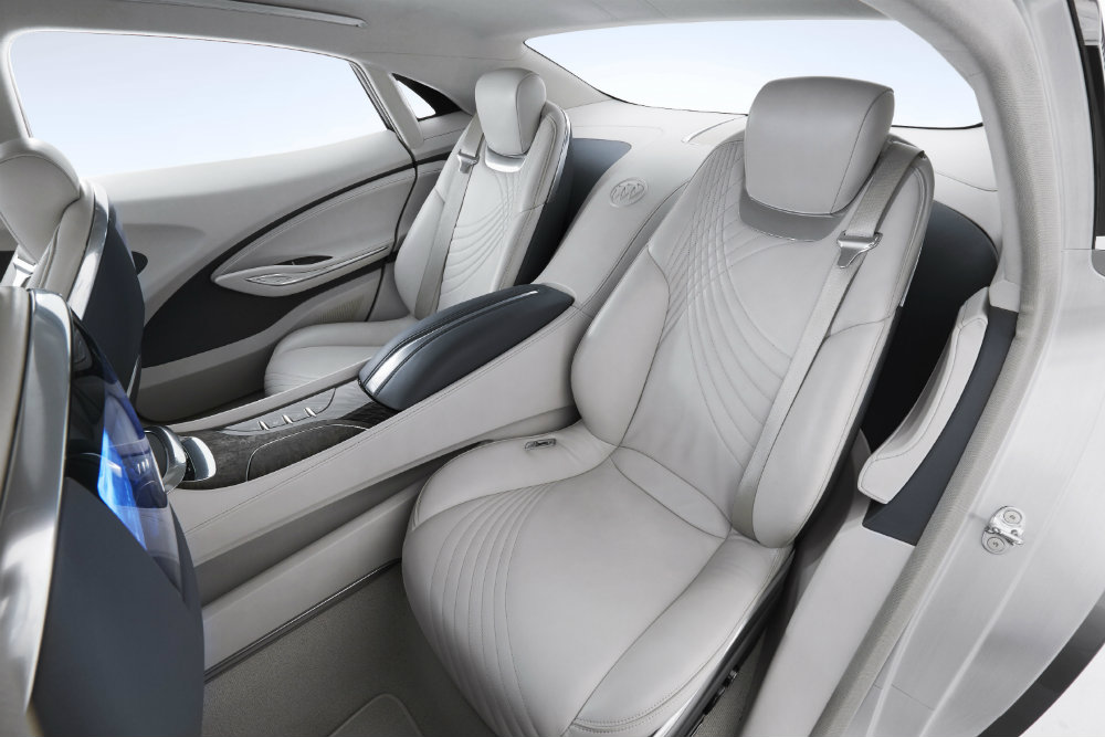 interior of the 2015 Buick Avenir Concept