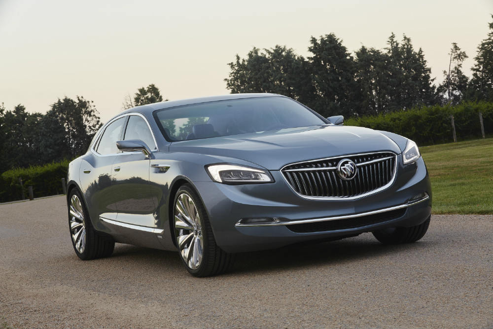 2015 Buick Avenir Concept vehicle