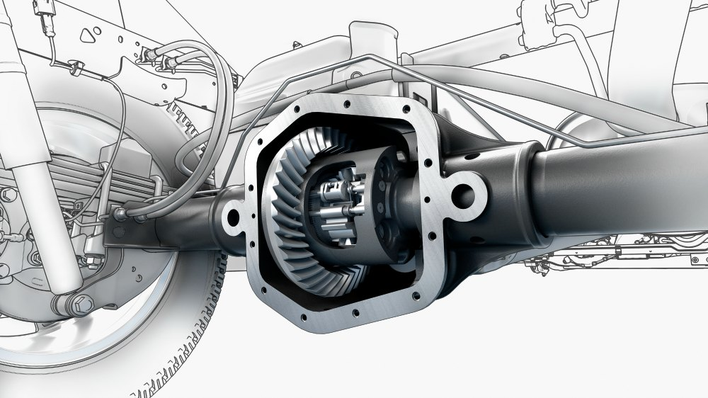 automatic locking rear differential on a 2015 GMC Canyon